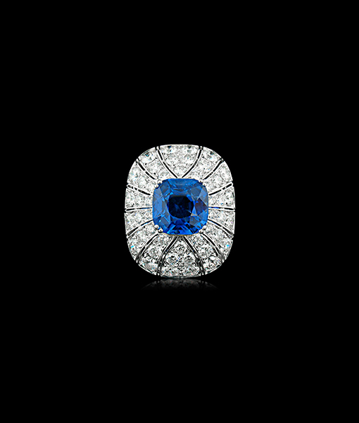 Picchiotti Sapphire and Diamond Ring