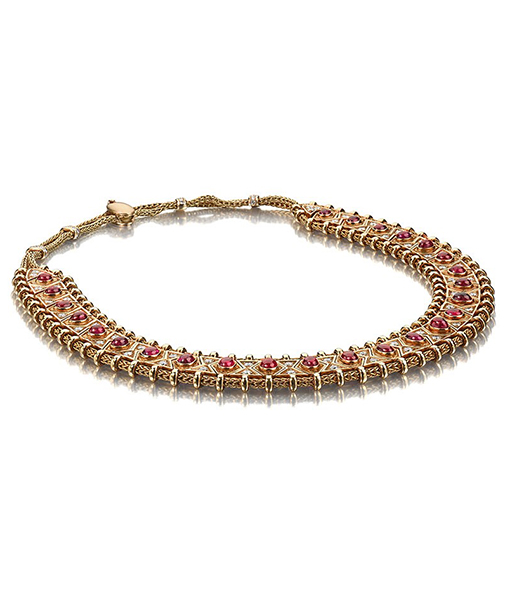 Boivin Ruby and Diamond Hindu Necklace