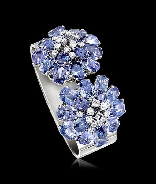 Cartier Sapphire Diamond Bracelet Paris Circa 1935