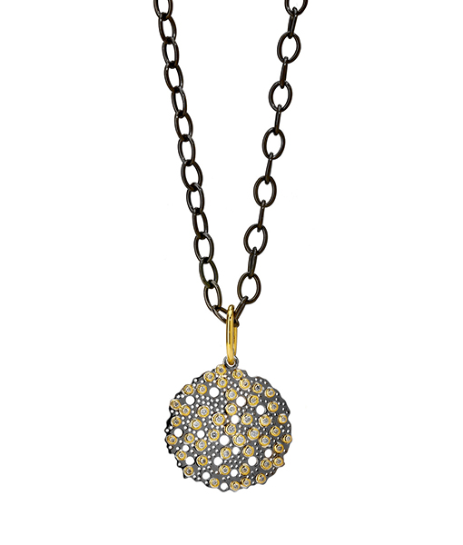 Syna Bubbles Pendant Champagne Diamonds