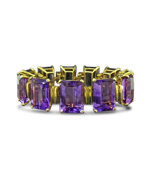 Tony Duquette Amethyst Bracelet SOLD!