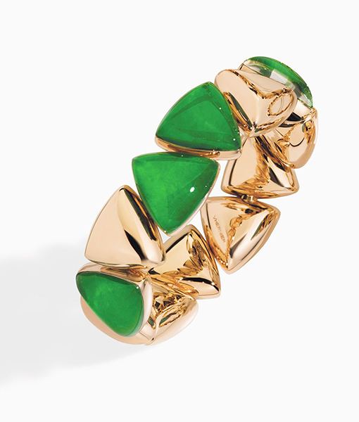 Vhernier Freccia Gold and Jade Bracelet