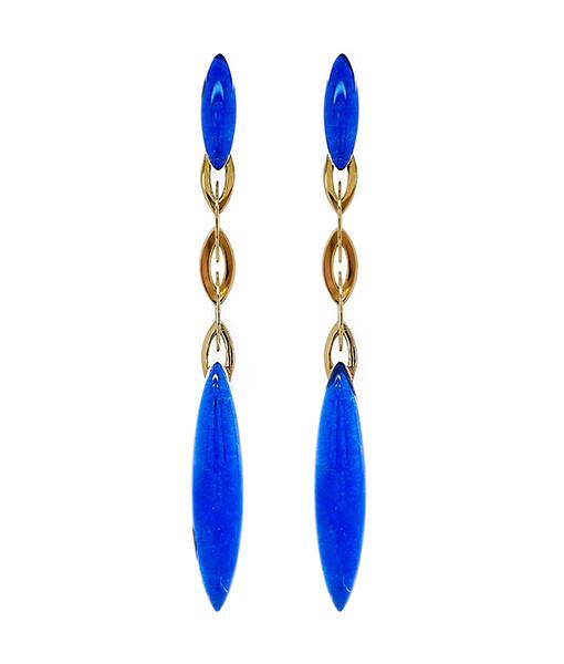 Vhernier Fuseau Lapis Earrings