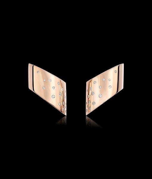 Vhernier Vague Diamond Earrings