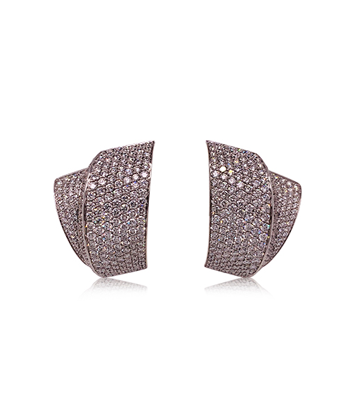 Vhernier Tourbillon Diamond Earclips