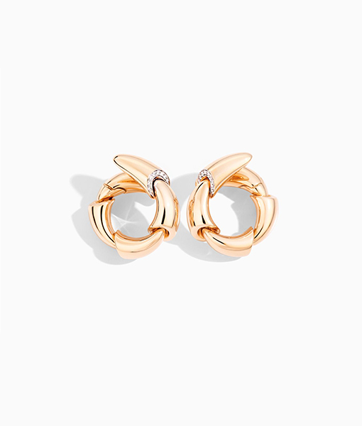 Vhernier Calla Diamond Earrings