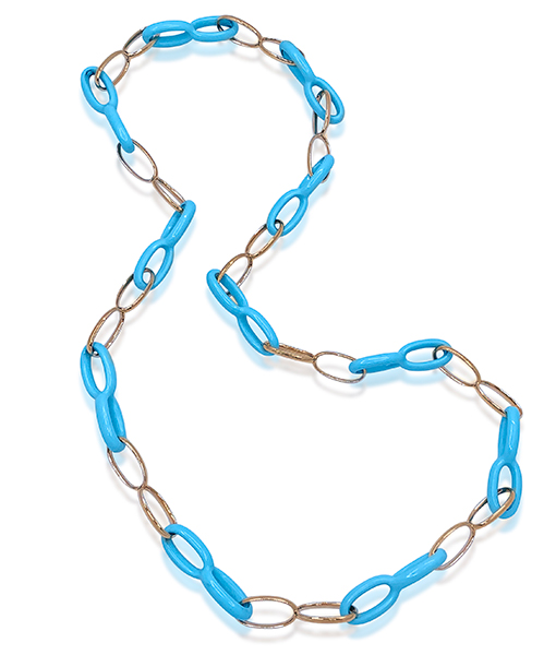 Vhernier Ottovolante Turquoise Necklace