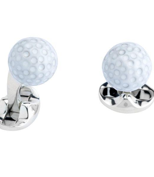 Deakin & Francis Golf Ball Cufflinks
