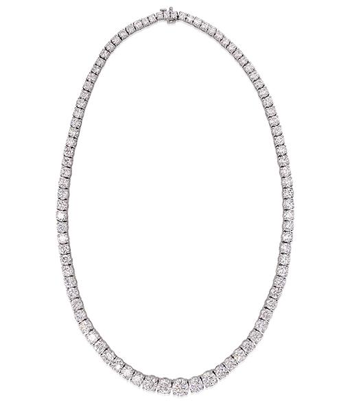 Cayen Diamond Riviere Necklace