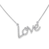 KC Love Diamond Necklace
