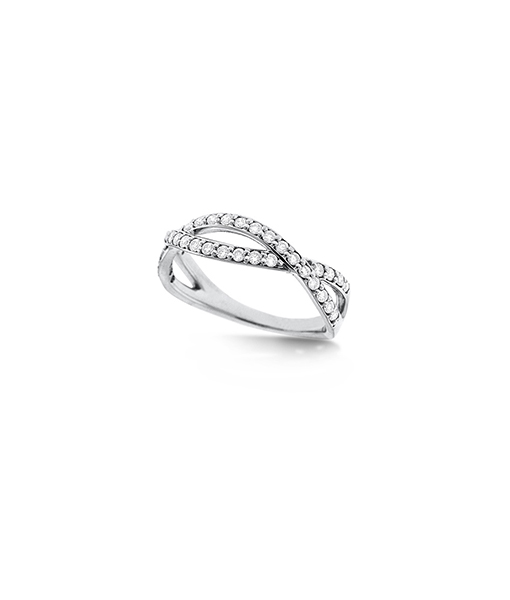 KC Diamond Infinity ring