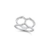 KC Diamond Contemporary Ring