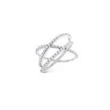 KC Diamond Criss Cross Ring