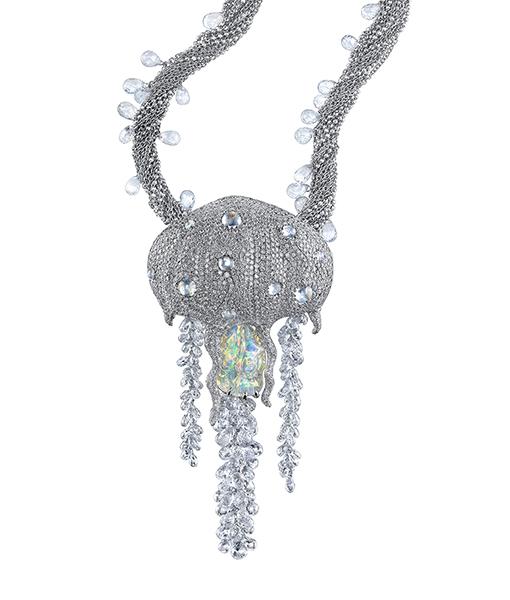 Victor Velyan Jellyfish Necklace