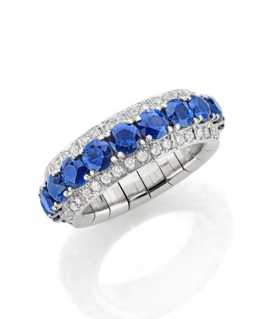 Picchiotti Large 'Xpandable' Sapphire Ring