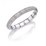Picchiotti Expandable Diamond Bangle Bracelet