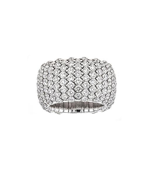 Zydo Wide Expandable Diamond Ring