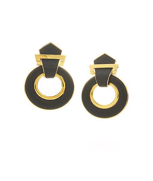 David Webb Woodworks Earrings