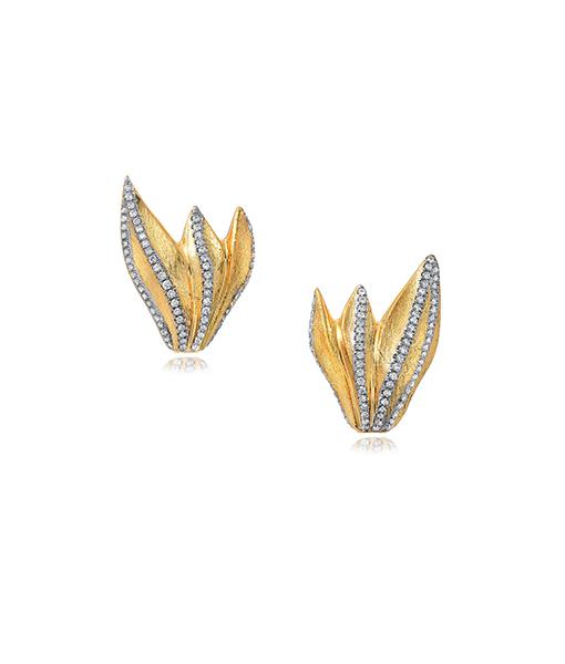 Victor Velyan Diamond Earring Tops