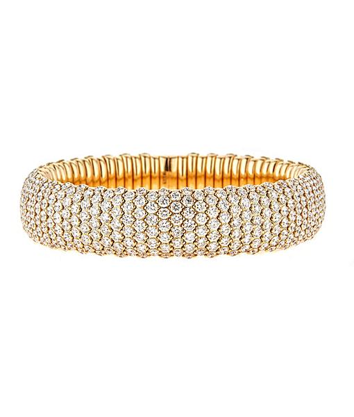 Zydo StretchCurved Bracelet with Diamonds