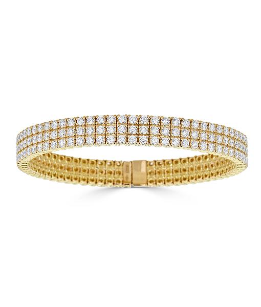 Zydo Expandable Classic Diamond Bracelet