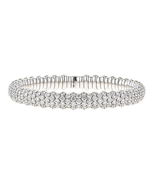 Zydo StretchDomed Skinny Diamond Bracelet