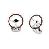 Deakin & Francis Vintage Steering Wheel Cufflinks