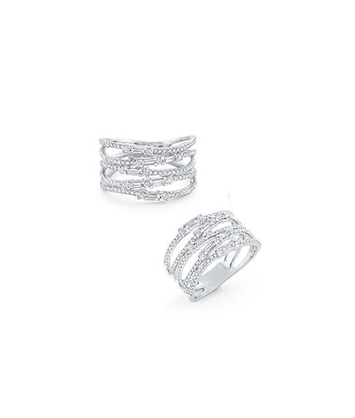 KC Multi Diamond Mosaic Diamond ring