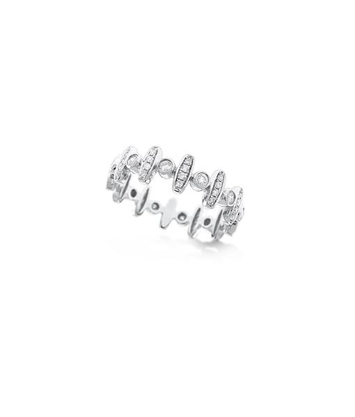 KC Diamond Tribal Ring