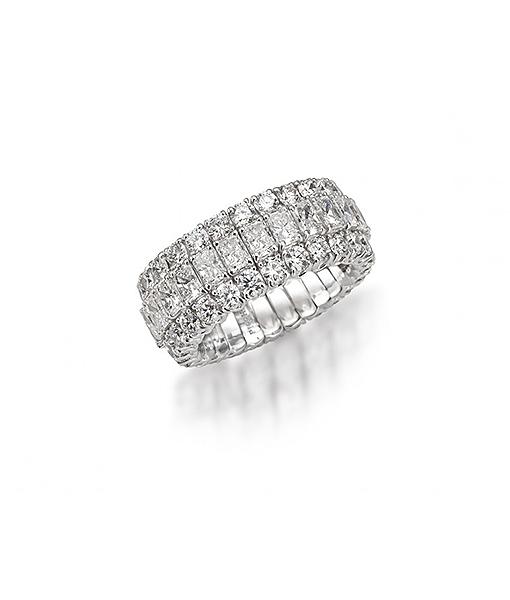 Picchiotti 'Xpandable' Baguette Diamond Ring