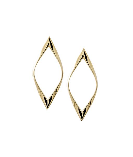 Lana Twist Kite Studs Earrings on SALE