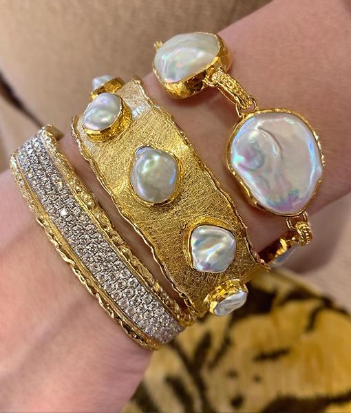 Victor Velyan Pearls and Diamonds