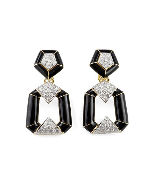 avid Webb Bamboo Manhattan Minimalist Collection Earrings