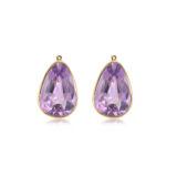 Cayen Collection Amethyst Earring Drops