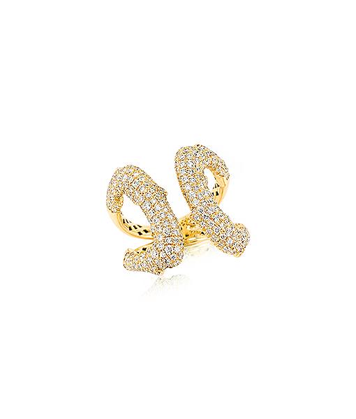 Diamond Branch Ring