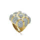 David Webb 57th Street Diamond Ring