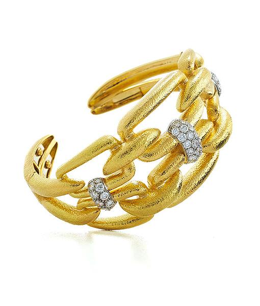 David Webb Chain Bracelet