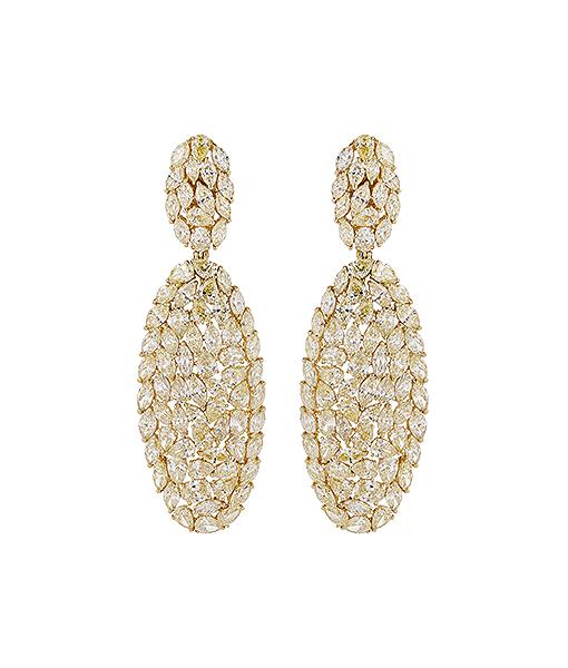 Etho Maria Round Diamond Earrings