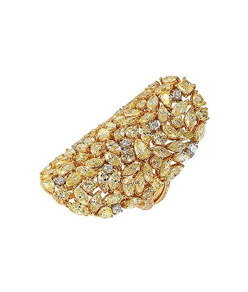 Etho Maria Yellow Diamond Ring