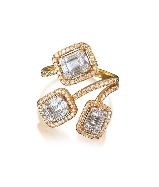 Zydo Double Diamond Necklace
