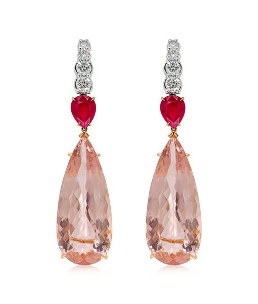 Ara Vartanian Morganite Earrings