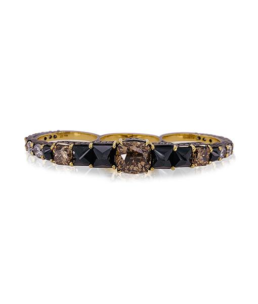 Ara Vartanian 3-Finger Multi-Diamond Ring