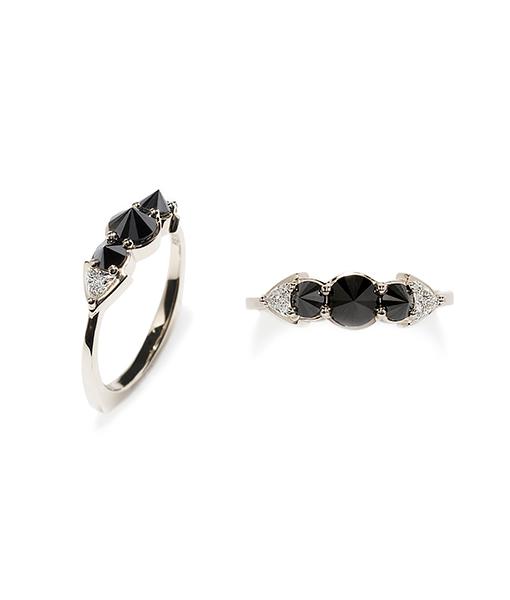 Ara Vartanian Black Diamond Ring