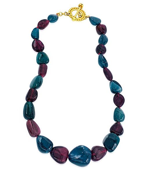 Cayen Collection Tourmaline bead Necklace #