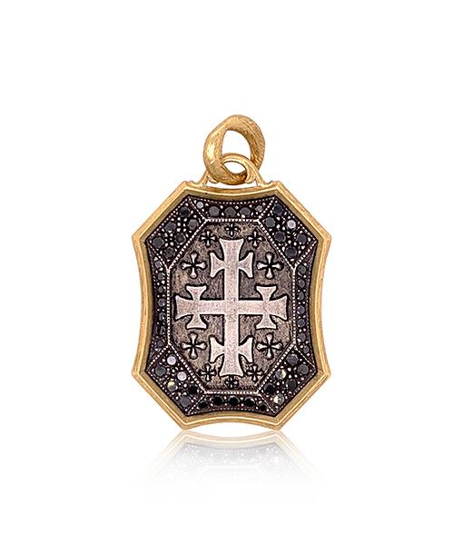 Erica Molinari Black Diamond Pendant