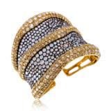 Etho Maria Aquamarine Diamond Cuff