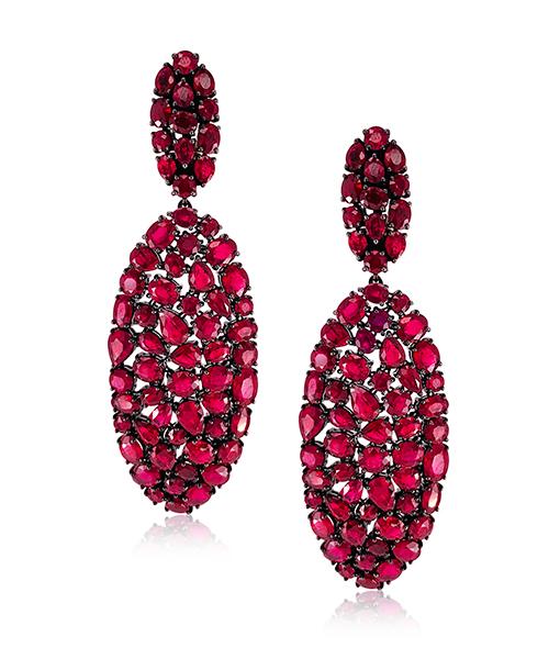 Etho Maria Ruby Earrings