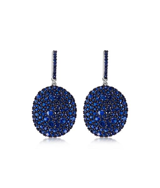 Etho Maria Blue Sapphire Earrings