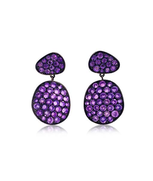 Etho Maria Amethyst Earrings #