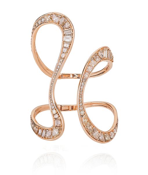 Fernando Jorge Brown Diamond Bracelet